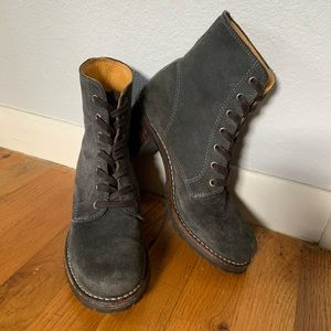 Frye lace-up boots
